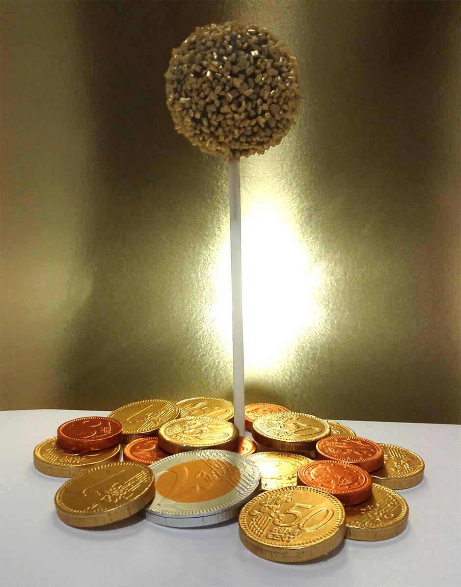 Maripi Cake Pops 2014 - Bola Monedas