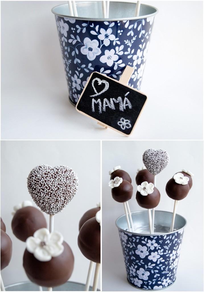 Maripi Cake Pops - Composición Día Madre